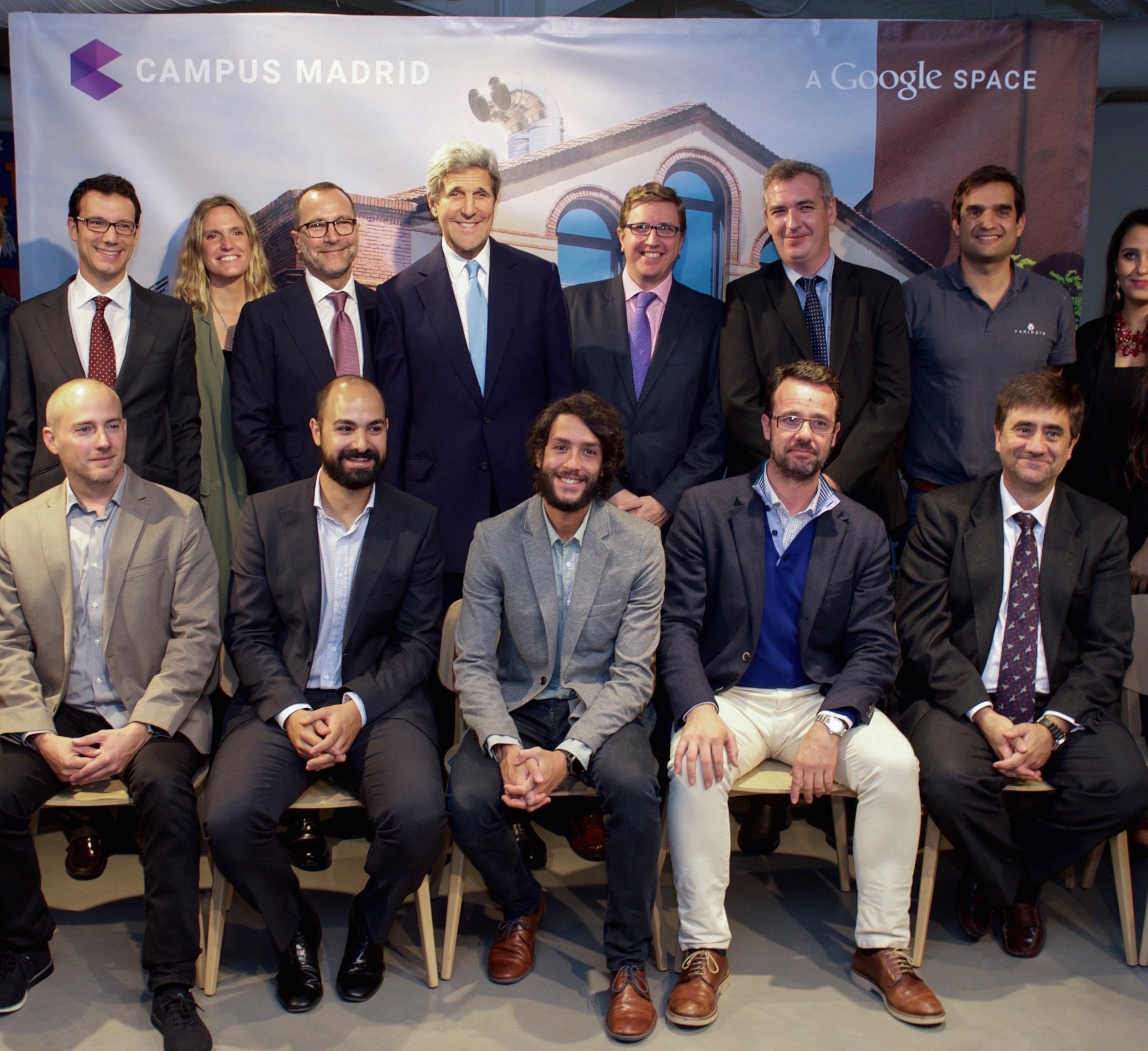 Spanish leading Technology entrepreneurs meet John Kerry