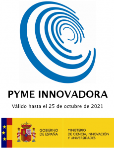 "Exclusive club of Spanish ""PYME INNOVADORA"", which the Spanish Government provides to the top innovative SME's in the country"