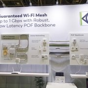 KDPOF presented guaranteed Wi-Fi Mesh up to 1 Gigabit/s with robust, low latency POF backbone at Broadband World Forum 2018