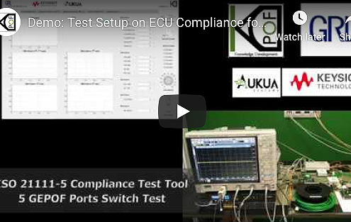Demo: Test Setup on ECU Compliance for ISO 21111-5 Standard