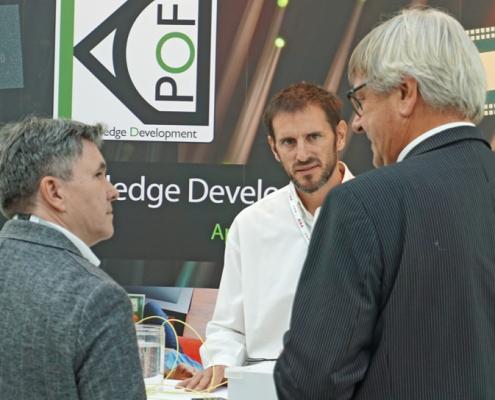 KDPOF demoed galvanic isolation of Gigabit Ethernet POF at ELIV VDI Congress