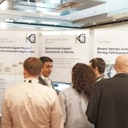 50 Gb/s Optical Automotive Ethernet Demo Strikes at Automotive Ethernet Congress