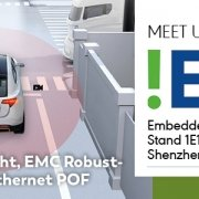 Embedded Expo China: KDPOF Will Present Low Cost, Low Weight, and EMC Robustness of Gigabit Ethernet POF