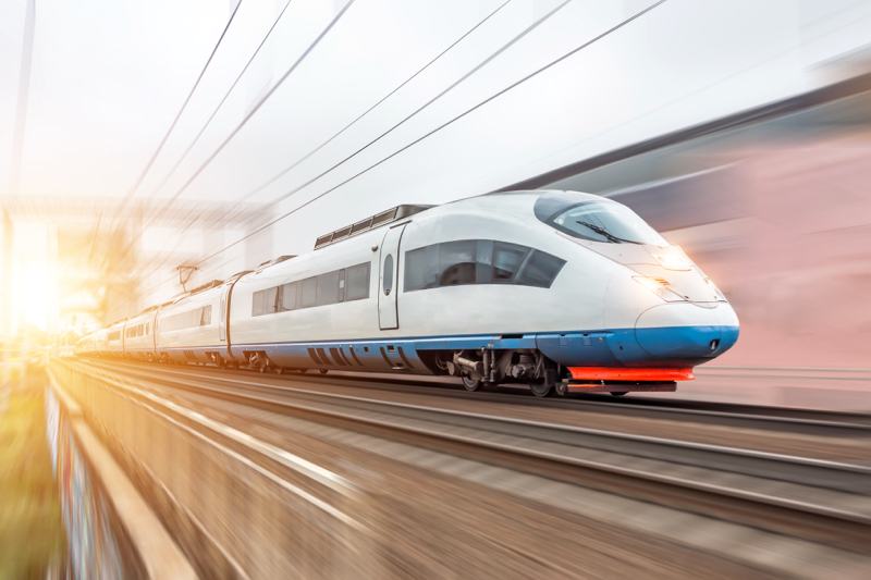 In-train communications with POF connectivity