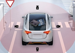 Efficient optical technology from KDPOF for ADAS sensor links in vehicles