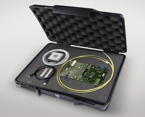 Extensive evaluation kit EVK9351AUT from KDPOF eases project start for optical gigabit connectivity in vehicles